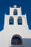santorini Греции oia belltower Стоковое Изображение RF