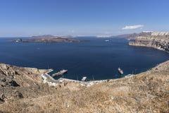 Santorini, Греция Стоковые Изображения
