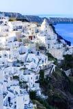 Santorini, Греция Стоковые Изображения RF