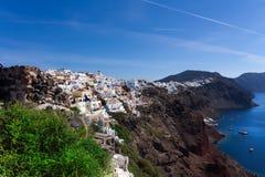 Santorini, Греция Стоковая Фотография RF