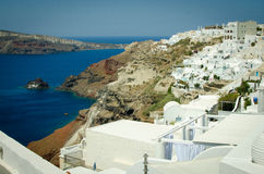 Santorini. Греция стоковое фото
