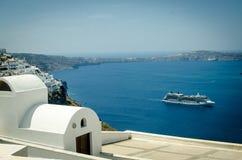 Santorini. Греция стоковые фотографии rf