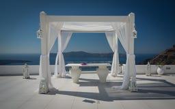 Santorini, греческие острова Стоковое фото RF
