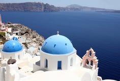 santorini острова Греции Стоковое Изображение RF