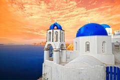 santorini острова Греции Стоковые Фото