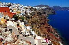 santorini острова Греции Стоковые Изображения RF