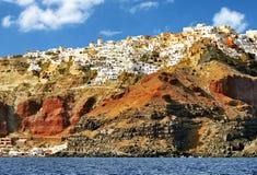 santorini острова Греции Стоковые Изображения