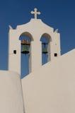 santorini острова церков греческое Стоковые Изображения RF
