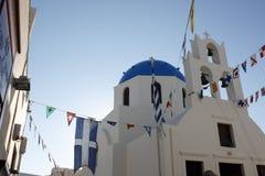 santorini церков Стоковое Изображение RF