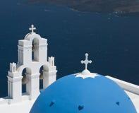 Santorini -希腊 库存图片