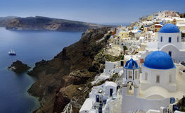 Santorini Fotografia de Stock