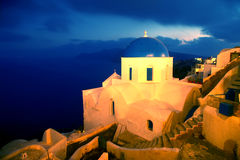 Santorini photo stock