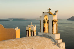 Santorini arkivbilder