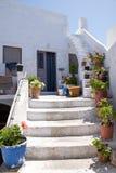 Santorini Obrazy Stock