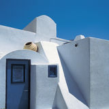Santorini. Typical architecture, Santorini, Cyclades, Greece stock image