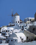 Santorini. Oia, Santorini island, Cyclades, Greece stock photo