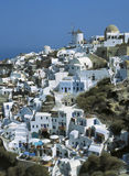 Santorini. Oia, Santorini island, Cyclades, Greece stock photography