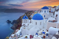 Santorini. imagem de stock royalty free
