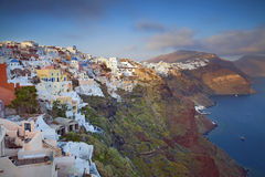 Santorini. Photo libre de droits