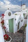 Santorini. Images libres de droits