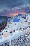 Santorini. Photo stock