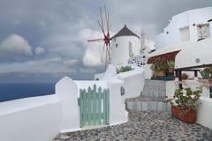 Santorini. Image libre de droits