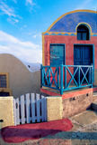 Santorini. The island of colors and beautiful architecture style Royalty Free Stock Photography