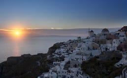 Santorini stockfotografie