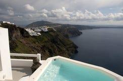 Santorini Photo libre de droits