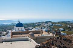 Santorini by Royaltyfri Foto
