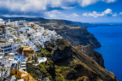 Santorini Royaltyfri Fotografi