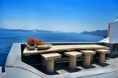 Santorini Foto de Stock