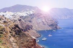 Santorini стоковое изображение