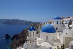 Santorini photo stock