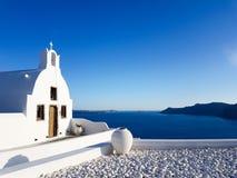 Santorini royalty-vrije stock afbeeldingen