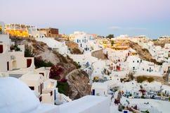 Santorini Fotografia de Stock Royalty Free