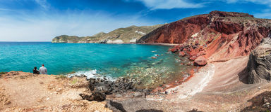 Santorini Arkivfoto