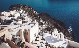 Santorini Immagine Stock Libera da Diritti