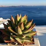 Santorini royalty-vrije stock fotografie