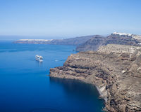 Santorini. The amazing view in Santorini Royalty Free Stock Photography