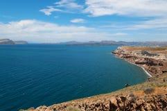 Santorini Ansicht Stockfoto