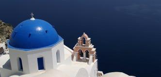 Santorini Ansicht Lizenzfreies Stockfoto