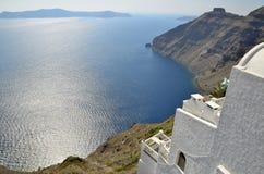 Santorini-Ansichten Lizenzfreies Stockfoto