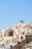 Santorini Archeticture Stock Photo