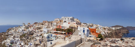 Santorini architecture Royalty Free Stock Images