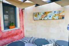 Santorini architecture Royalty Free Stock Image