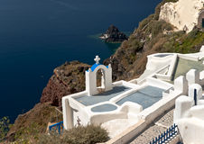 Santorini architecture Royalty Free Stock Photos