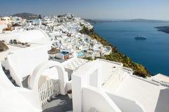 Santorini architecture, Greece Stock Images