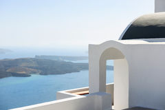 Santorini architecture, Greece Royalty Free Stock Images