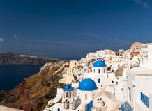Santorini architecture stock photography